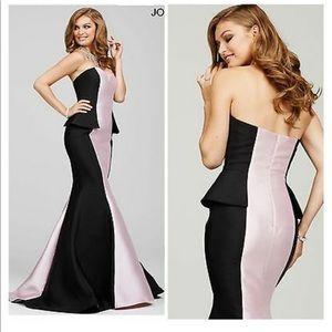 New jovani dress black and white size 10!!!